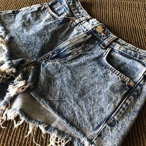 Women's Shorts Light Denim